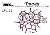 Decorette stans/die no. 25, Mozaïek / Mosaic
