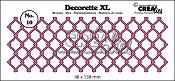 Decorette XL stans/die no. 10, Gevlochten draadwerk / Braided wire