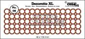 Decorette XL stans/die no. 08 cirkels/circles