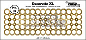 Decorette XL stans/die no. 09 achthoeken/ octagons