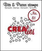 Bits & Pieces stempel/stamp no. 81 open stars