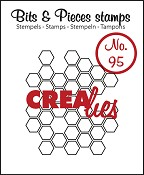 Bits & Pieces stempel/stamp no. 95 Open honeycomb