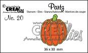 Partz stans/die no. 20, Pompoen B / Pumpkin B