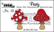 Partz stans/die no. 18, Paddenstoel B / Mushroom B