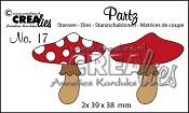 Partz stans/die no. 17, Paddenstoel A / Mushroom A
