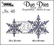 Duo Dies no. 48, Sneeuwvlok 5 / Snowflake 5