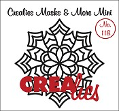 Masks & More Mini no. 118 (plastic), Mandala E