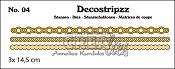 Decostripzz stans/die no. 04, Cirkeltjes / Circles
