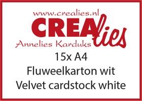 Fluweelkarton (10x A4) / Velvet Cardstock (10x A4)
