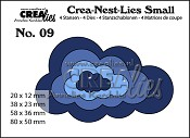 Crea-Nest-Lies Small stansen/dies no. 9, Wolken / Clouds