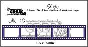 X-tra stans/die no. 13, Filmstrip klein / Filmstrip small