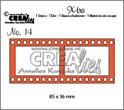 X-tra stans/die no. 14, Filmstrip groot / Filmstrip large