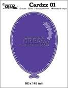 Cardzz stansen/dies no. 1, Ballon / Balloon