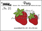 Partz stans/die no. 25, Aardbeien / Strawberries