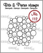 Bits & Pieces stempel/stamp no. 112, Heel veel cirkels/A lot of circles
