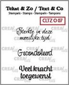 Tekst & Zo stempels, Overlijden no. 7