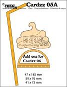 Cardzz stansen/dies no. 5A, Extra`s voor mok om mee te nemen / Add ons for mug to go