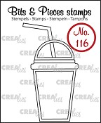 Bits & Pieces stempel/stamp no. 116, Smoothie