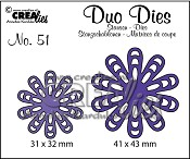 Duo Dies no. 51, Bloemen 22 / Flowers 22