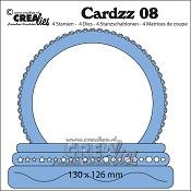 Cardzz stansen/dies no. 8, Sneeuwbol / Snow globe