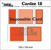 Cardzz stansen/dies no. 12, Impossible card