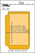 X-tra stansen/dies no. 22, Klein zakje / Small bag