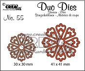 Duo Dies no. 55, Bloemen 24 / Flowers 24