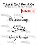 Tekst & Zo stempels, Beterschap 10
