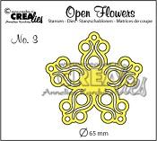 Open Flower stans nr. 3 / Open Flower die no. 3