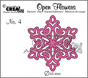 Open Flower stans/die nr. 4