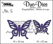 Duo Butterflies set no. 1