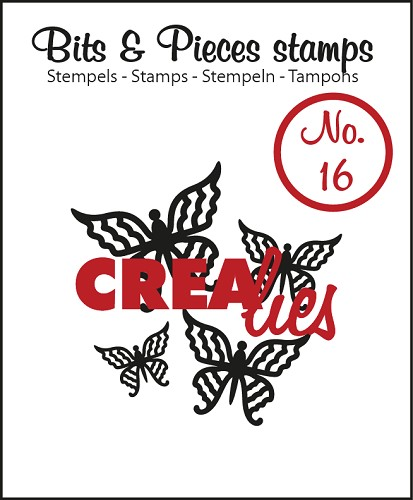Bits & Pieces stempel/stamp no. 16, Butterfly 4