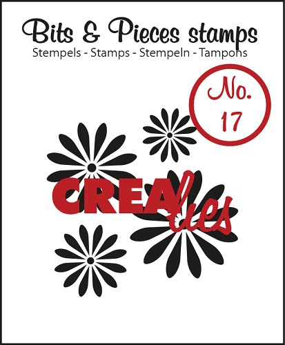 Bits & Pieces stempel/stamp no. 17, Flowers 1