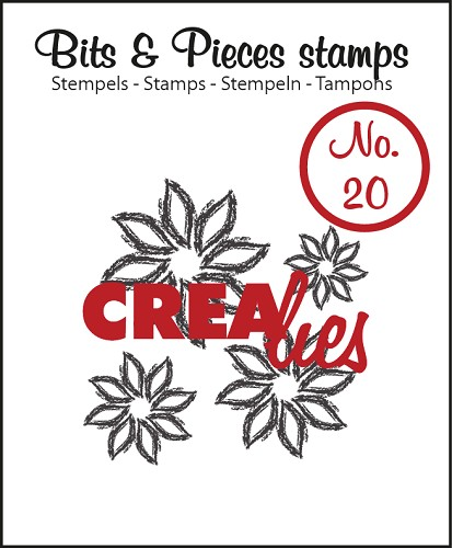 Bits & Pieces stempel/stamp no. 20, Flowers 4