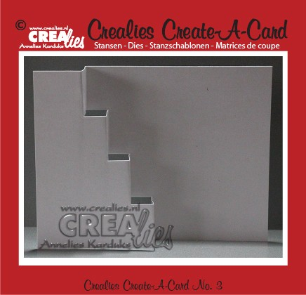 Crealies Create A Card stans/die no. 3