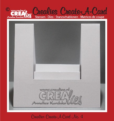 Crealies Create A Card stans no. 4 / Crealies Create A Card die no. 4