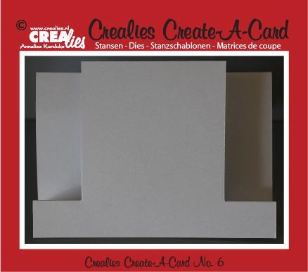 Crealies Create A Card stans no. 6 / Crealies Create A Card die no. 6