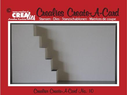 Crealies Create A Card stans no. 10 / Crealies Create A Card die no. 10