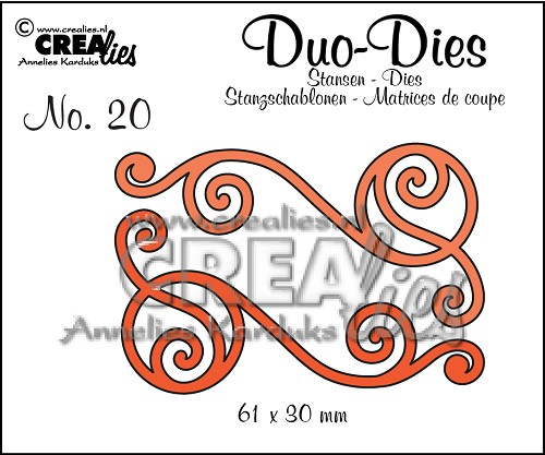 Duo Dies no. 20, Swirls 1