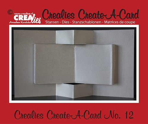 Crealies Create A Card stans/die no. 12