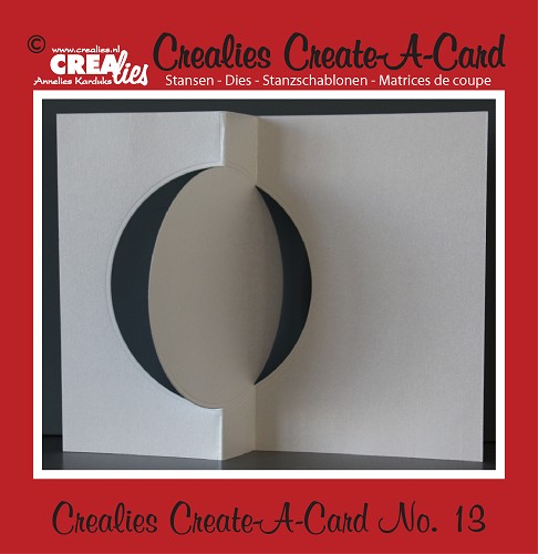 Crealies Create A Card stans/die no. 13