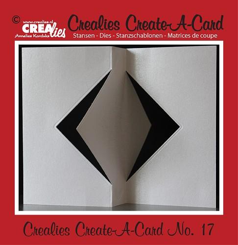 Crealies Create A Card stans no. 17/ Crealies Create A Card die no. 17