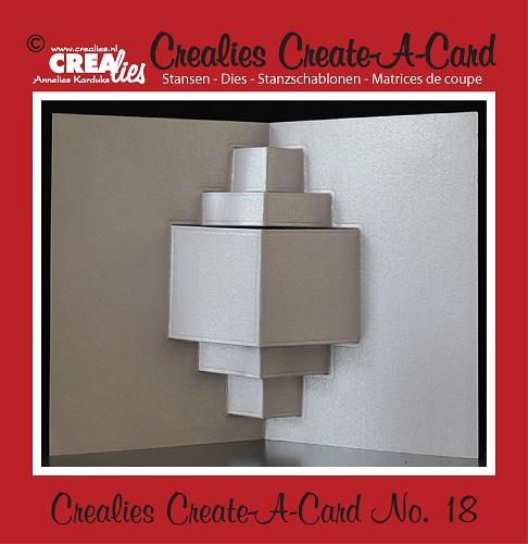 Crealies Create A Card stans/die no. 18