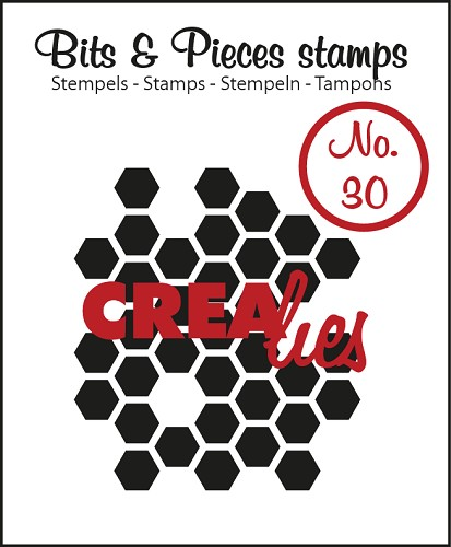 Bits & Pieces stempel/stamp no. 30, Honeycomb