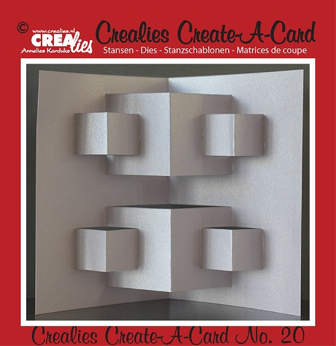 Crealies Create A Card stans no. 20 / Crealies Create A Card die no. 20