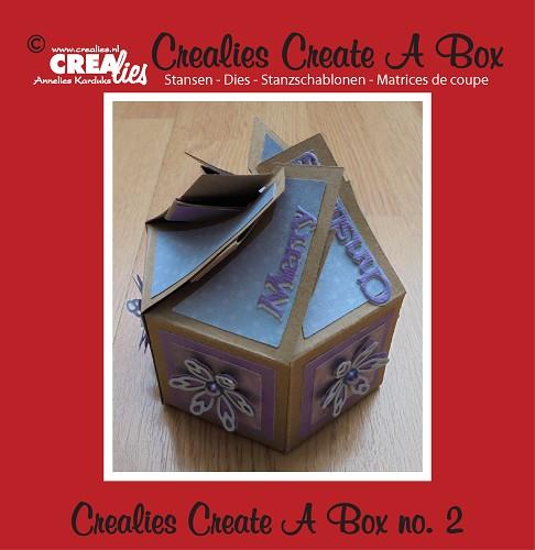 Crealies Create A Box no. 2