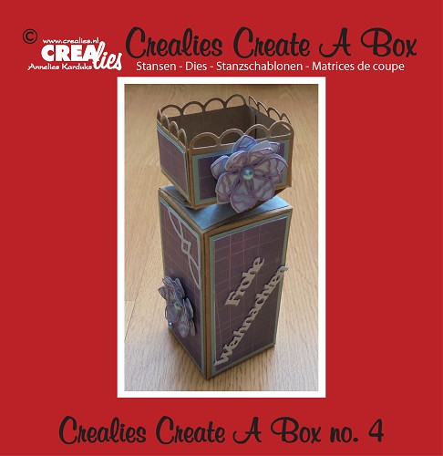 Crealies Create A Box no. 4