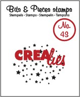 Bits & Pieces stempel/stamp no. 43
