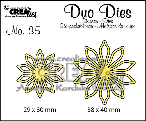 Duo Dies no. 35 Bloemen 17/ Flowers 17