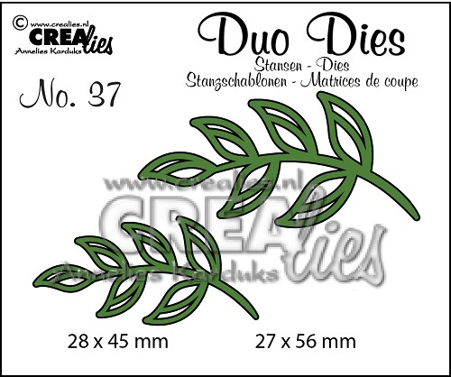 Duo Dies no. 37 Blaadjes 5 / Leaves 5